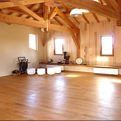 Salle de pratique à Manaska